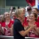 Ellen, Our Hero of Joy, Finally Arrives on Aussie Shores Landing at Sydney Airport